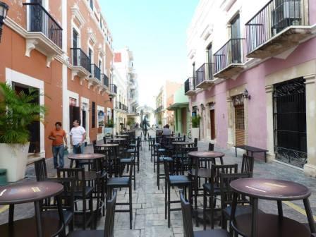 L'ambiance à Campeche est très sympathique...