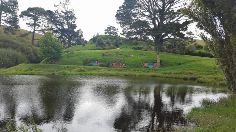 Visiter le village du Seigneur des Anneaux.